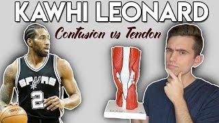 Kawhi Leonard Injury | Quad Contusion vs Tendinopathy