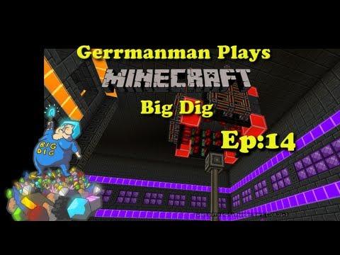 Minecraft Big Dig Ep:14 Lazerz