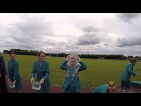 Aer Lingus accepts the Ice Bucket Challenge