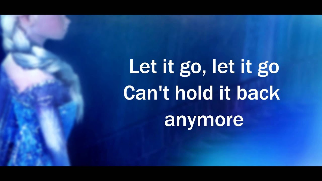 let it will be video: