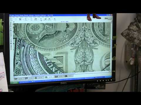 Fallen Angels on Dollar Bill Illuminati Symbols on One Dollar Bill & The End