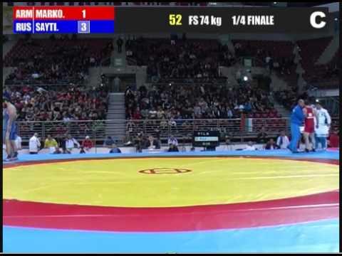 Адам Сайтиев-Маркосян 1/4 финала София Болгария