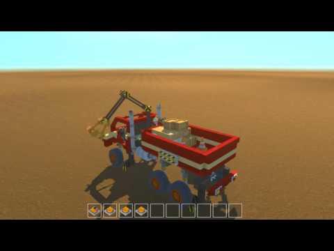 Scrap Mechanic - Crane Platform Truck