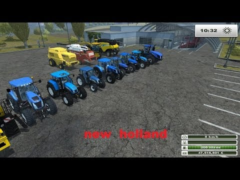 farming simulator 2013 presentation des mods new holland