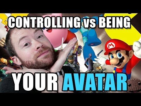 "Controlling vs ""Being"" Your Video Game Avatar 