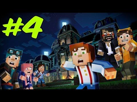 KATİL ORTAYA ÇIKTI!!   Minecraft Story Mode Episode 6 #4 [FİNAL]