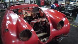jaguar XK 150 OTS restoration part 1