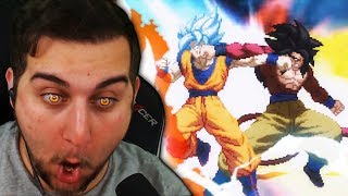 THIS IS CLEVER AND AN AMAZING BATTLE!! | Kaggy Reacts to [What-If MOVIE] Super Goku VS GT Goku