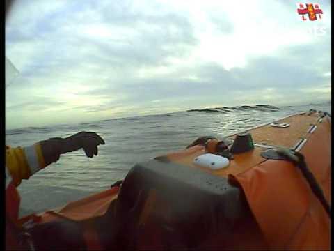 RNLI Sunderland - Surf Training Exercise