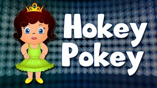 The Hokey Pokey Song | Kids Dance Song | Nursery Rhymes for Kids