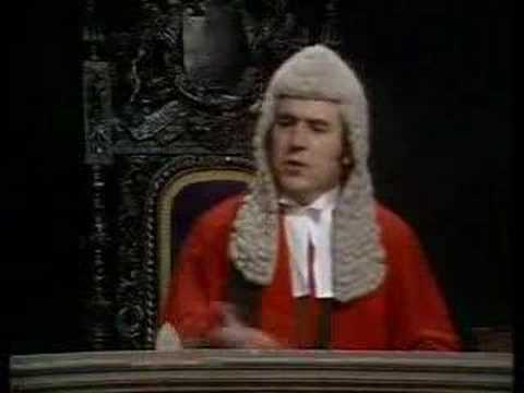 Monty Python - Court Scene Video
