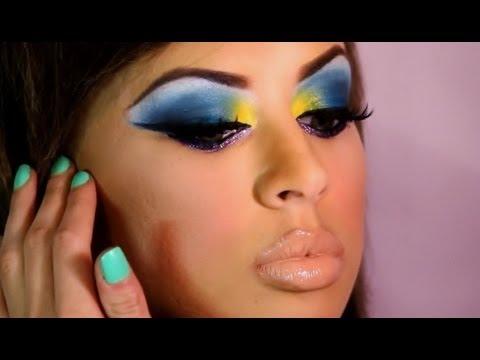 young brown and feminine feminine makeup examples