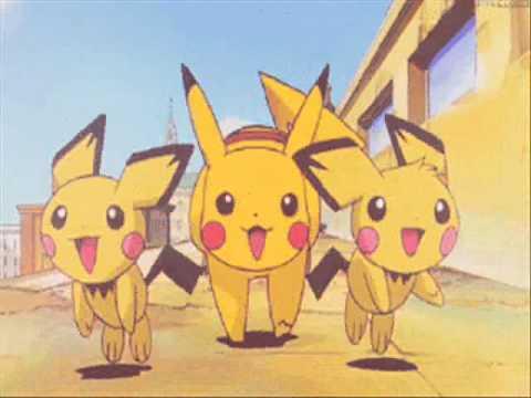 ♣♥Pichu Pikachu And Raichu♥♣