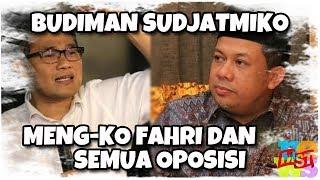 Bravo, Budiman Sudjatmiko Meng-KO Fahri Hamzah dan Semua Oposisi di ILC