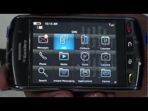 Blackberry Storm 9530 Screen Demo - Gizmo E Bazaar Pvt Ltd
