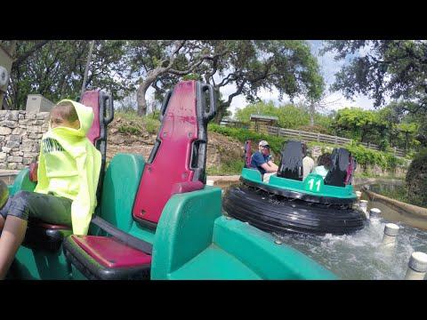 [4K] Rio Loco River Rapids 2015 POV, SeaWorld San Antonio
