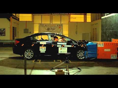 Honda Civic ASEAN NCAP краш-тест