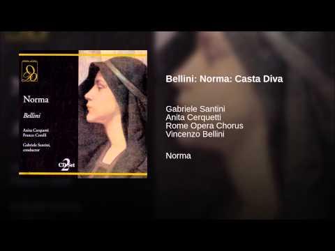 Bellini norma casta diva youtube - Norma casta diva bellini ...