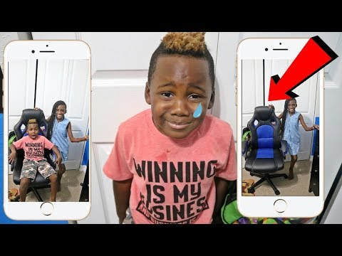 Funny Invisible KID PRANK On My Little Brother