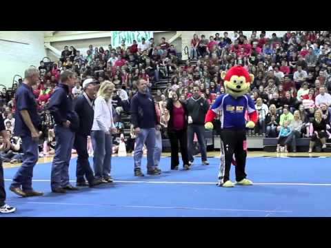 Funkey Munkey at Smithson Valley High School Pep Rally