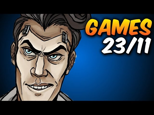 Borderlands / Warhammer - GAMES semana 23/11