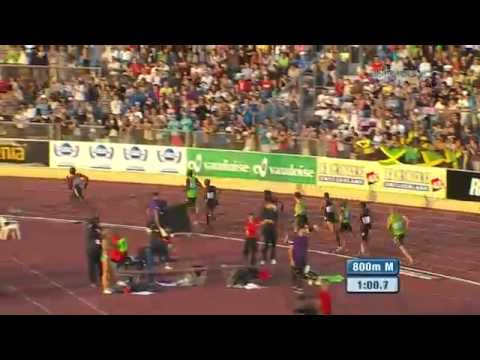 David Rudisha Wins 800 in Lausanne - from Universal Sports
