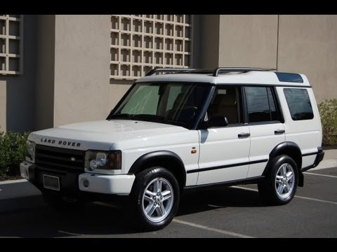 2004 land rover discovery se chawton white only 63 000 miles youtube. Black Bedroom Furniture Sets. Home Design Ideas