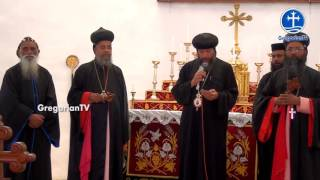 Bishop Youssef visits the Parumala Church
