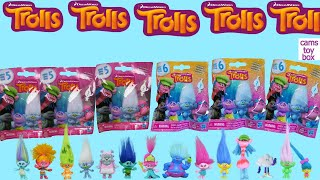 Opening Trolls Blind Bags Series 5 and 6 Surprise Toys Dreamworks Toy Review