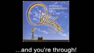 Oklahoma! - It's a Scandal! It's a Outrage! w/lyrics