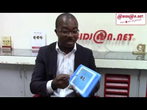 M. Thierry N`doufou, créateur de la première tablette Ivoirienne, QELASY, en direct