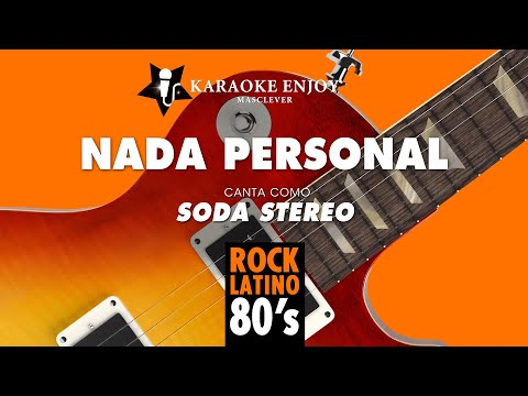 Nada personal - Soda Stereo (Versión karaoke con letra pintada).mpg