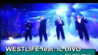 Watch Il Divo You Raise Me Up por Ti Sere video