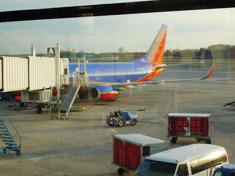 Southwest Airlines FULL FLIGHT MCO-BWI: Spring Break 2016