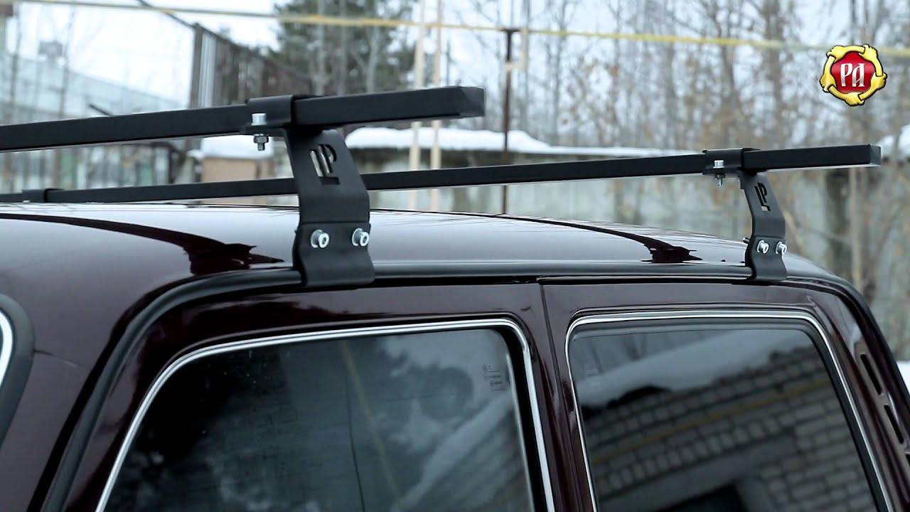 Багажник на крышу авто своими руками на ниву