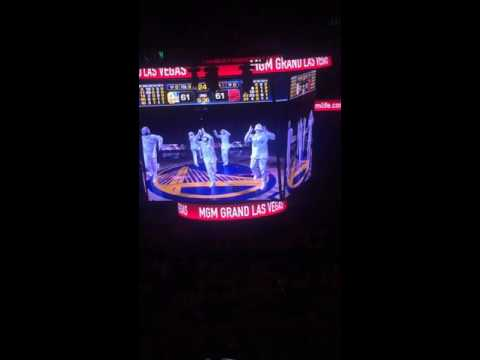 Golden State Warriors halftime show game 5