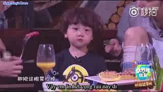 [Vietsub] Baby let me go mùa 3: Trần Học Đông cho Hào Hào ăn rau