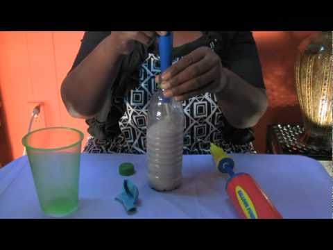How to make a homemade balloon sand weight mpg youtube