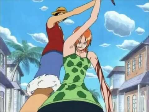 Luffy Gives His Hat To Nami video