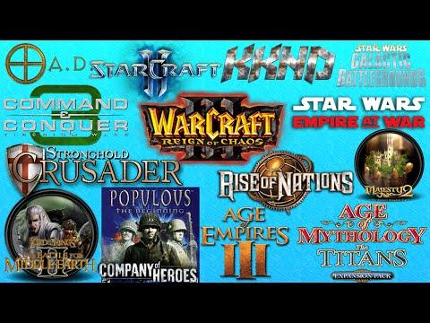 Top 15 Melhores Jogos de Estrategia (RTS) - nerd em ação