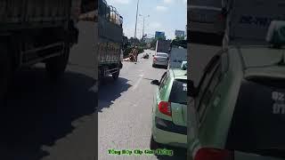 CSGT gặp tai nạn tại Phố Nối Hưng Yên