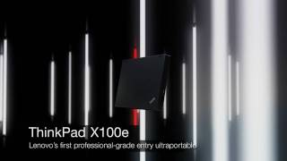 Lenovo ThinkPad X100e notebook product tour