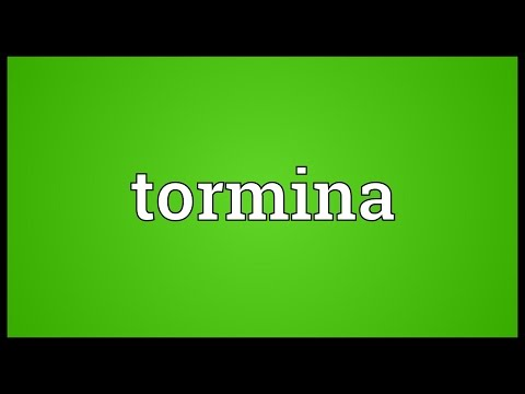 Header of tormina