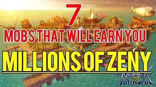 7 Mobs to earn you millions of zeny in Ragnarok M: Eternal Love Sea