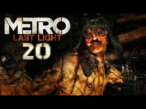 METRO LAST LIGHT [HD+] #020: Wir nennen sie Shrimps! ★ Let's Play Metro: Last Light