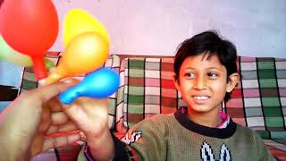 Finger Family Song for Children Toddlers Nursery Rhymes | learn color with Balloon