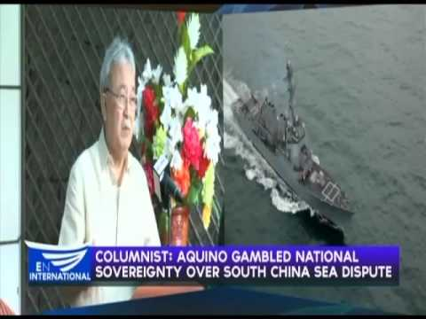 Columnist: Aquino gambled national sovereignty over South China Sea dispute