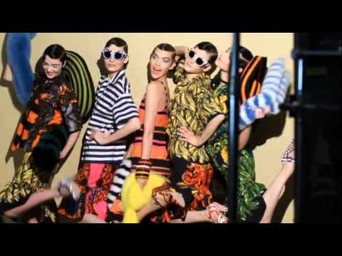 Prada Spring/Summer 2011 Video Campaign Backstage