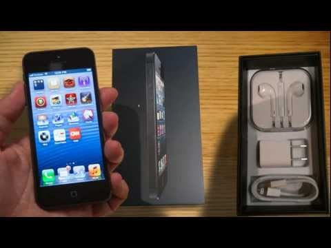 iPhone 5 unboxing and review