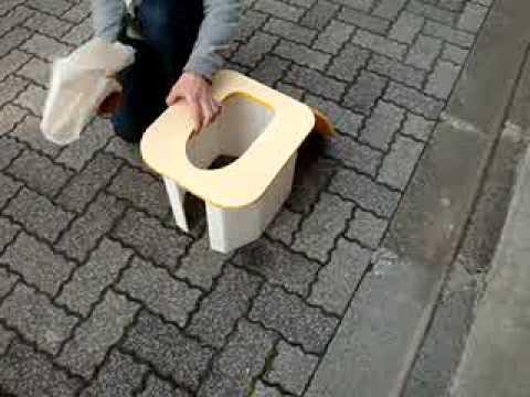 防災用品 組立簡易トイレ